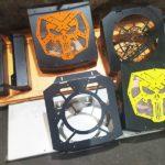 изготовление выносов на радиаторы квадроциклов