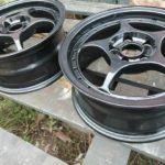 автомобильные диски после полимерно-порошковой покраски