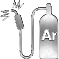 иконка сварка аргонодуговая