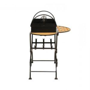 разборный мангал с вертелом и столиками