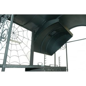 мангальный комплекс с дымоходом