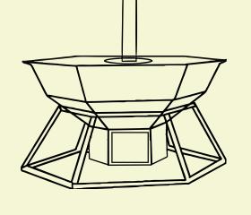 конструкция большого купального чана с печкой и трубой