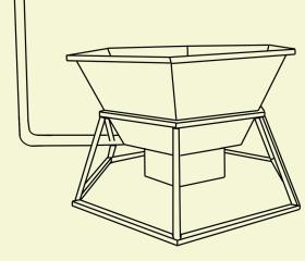 конструкция банного чана с печкой, трубой