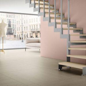 ЛМГО-40. Забежная лестница на 90 градусов на металлическом каркасе